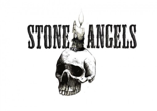 Stone Angels White Candle T Shirt
