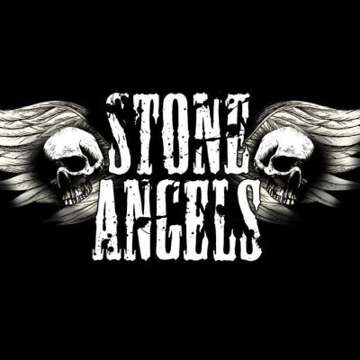 Stone Angels Black Winged T Shirt